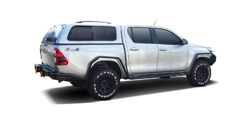 CARRYBOY GFK Hardtop 560-TRD mit Schiebefenster Toyota Hilux Revo Invincible Doppelkabine Hilux Zubehör extrem stabil und belastbar