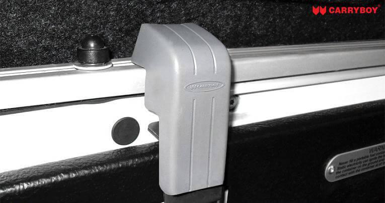 CARRYBOY Hardtop 560 mit seitlichen Schiebefenster für VW Amarok Doppelkabine einfacher Aufbau ohne bohren