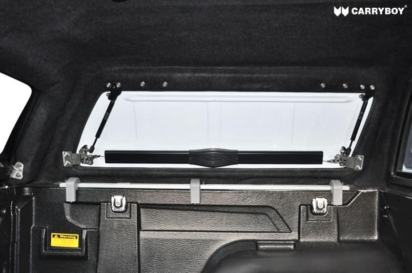CARRYBOY Hardtop SOK-TRD Toyota Hilux Revo_Invincible Doppelkabine Zubehör Hardtop mit geschlossenen Klappen GFK hochwertig verarbeitet