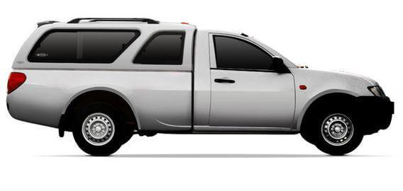 CARRYBOY Hardtop mit Schiebefenster Mitsubishi L200 Einzelkabine 2005-2015 passgenau und garantierte Ersatzteilversorgung
