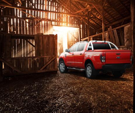 CARRYBOY Flachabdeckung Ford Ranger Doppelkabine 2012+ sicher abschließbar