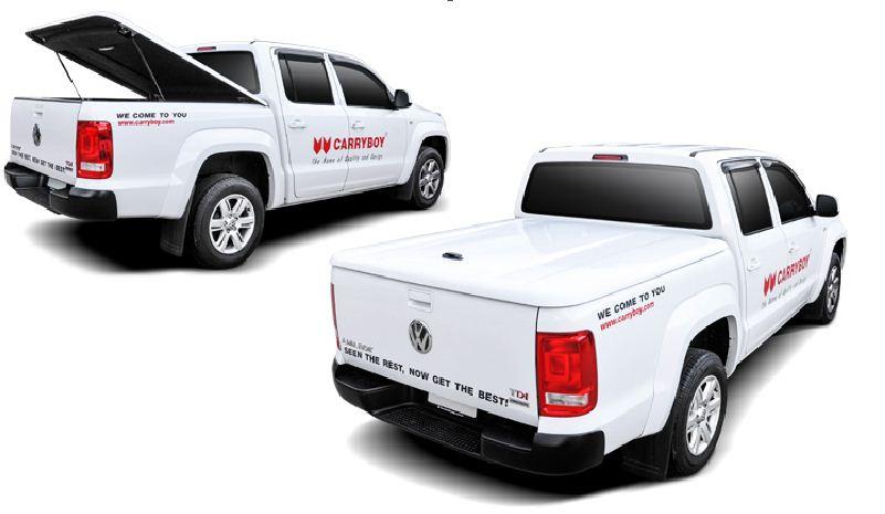 Ford Ranger Doppelkabine Laderaumabdeckung Deckel SX-FTD weiß lackiert