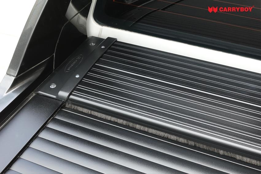 Carryboy Roller Lid Aluminium Rollo 789R-FTD Für Ford Ranger Wildtrak, Wildtrak Bügel Aluminium Rollcover