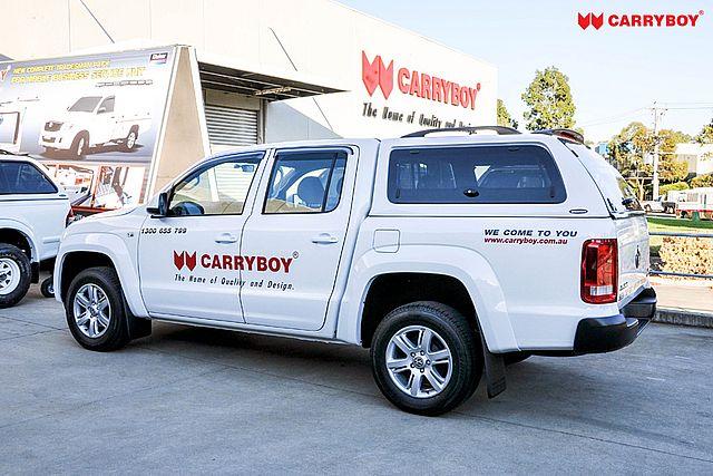 CARRYBOY VW Amarok Doppelkabine Hardtop mit Ausstellfenster sicher abschließbar