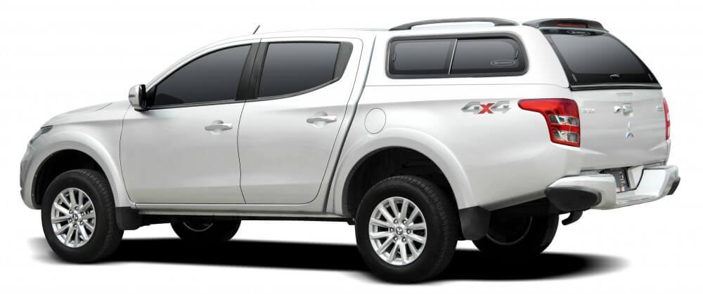 CARRYBOY Zubehör Hardtop mit Schiebefenster Mitsubishi L200 Doppelkabine 2016+