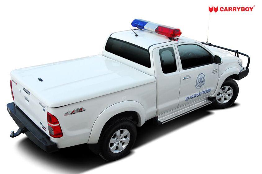 CARRYBOY Deckel Cover Toyota Hilux Revo Invincible schräg anstellbar Wagenfarbe