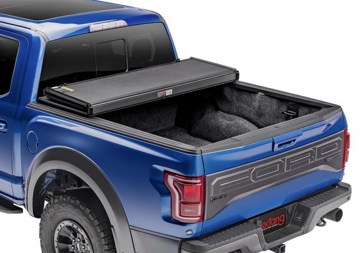 NOVISauto Laderaumabdeckung Faltbar Überkante Ford F150 2021+ bequeme Nutzung offen fahrbar