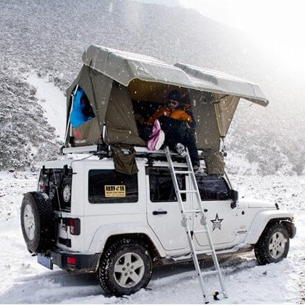 NOVISauto CARRYBOY Dachzelt Pathfinder II mit Hartschale und Motorhub schneller Aufbau
