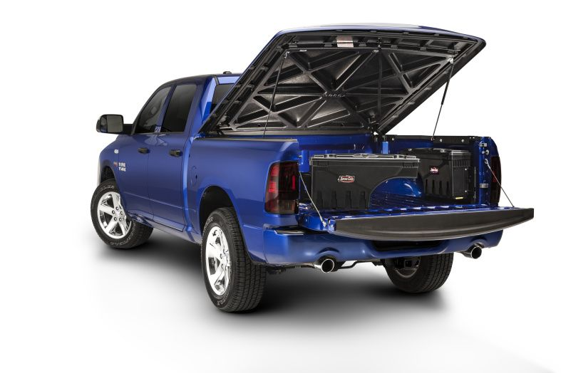 NOVISauto CARRYBOY Werkzeugbox Staubox Toolbox schwenkbar Pickup Ladefläche Ford Ranger 2012+ kombinierbar mit Abdeckungen und Hardtops