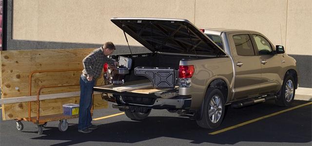 NOVISauto Pickup Stauboxen schwenkbare Werkzeugbox