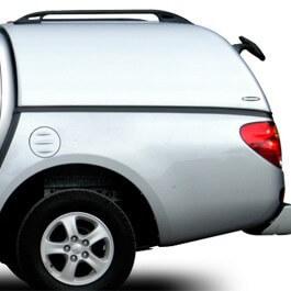 CARRYBOY Hardtop geschlossene Seiten ohne Fenster 560oS-MTC Mitsubishi L200 Clubcab Extrakabine 2009-2015 Ersatzteilservice