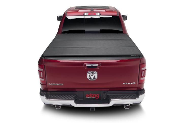 NOVISauto Laderaumabdeckung Flachabdeckung zum Falten Trifold Dodge RAM1500 2019+ sicher abschließbar