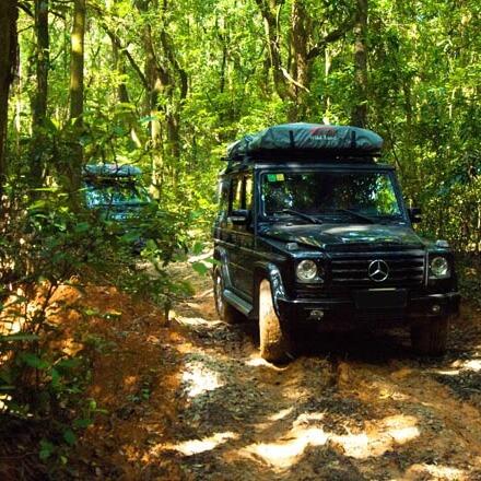 NOVISauto CARRYBOY SUV Dachzelt Pathfinder I mit Softplane Ripstop einfacher Aufbau