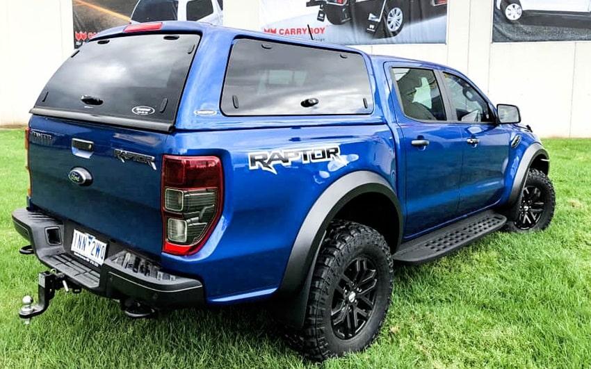 Ford Ranger Wildtrak Hardtop mit Glasklappen SON