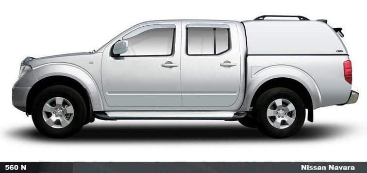 CARRYBOY Hardtop ohne Seitenfenster VW Amarok Doppelkabine extrem GFK Hardtop