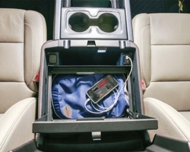 NOVISauto Autosafe 320 Mittelkonsole Chevrolet Silverado / GMC Sierra ab 2014