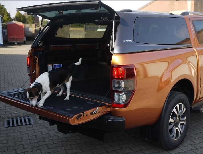 CARRYBOY Hardtop VW Amarok Doppelkabine 2010-2020 durchgehende Seitenscheiben Ausstellfenster
