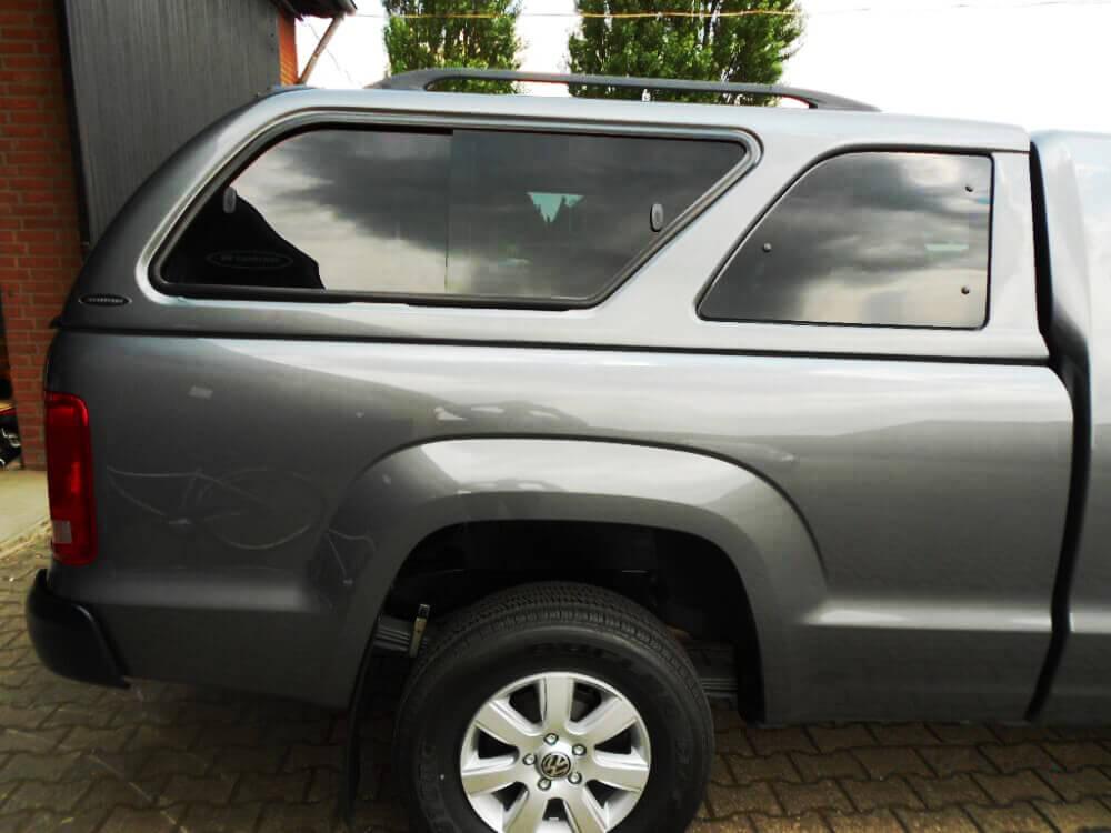 CARRYBOY Hardtop 560 mit seitlichen Schiebefenster für VW Amarok Einzelkabine Singlecab Speditionsversand