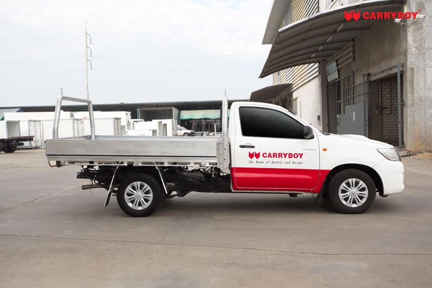 Carryboy Fahrgestellaufbau Alu Ladefläche Umbau ultraleicht Gewicht
