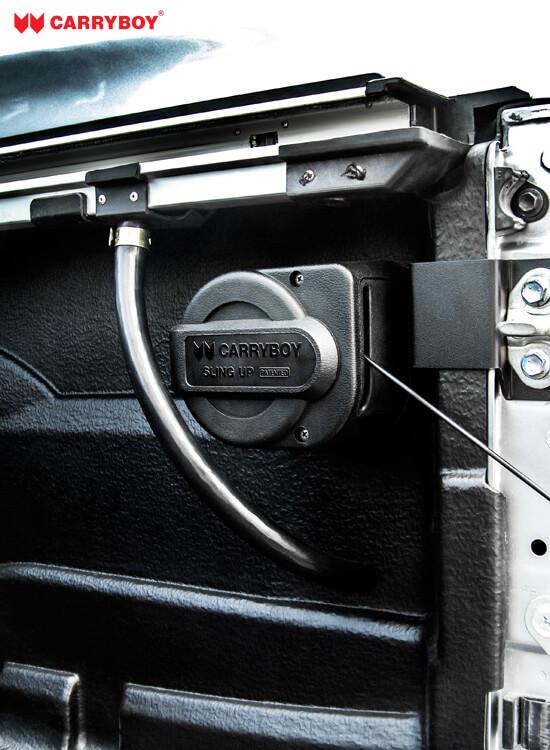 CARRBOY Heckklappenfeder Slingup 777-MND Mitsubishi L200 stufenlos verstellbar
