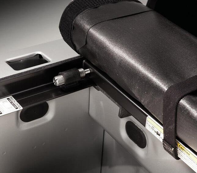 Laderaumabdeckung LoPro mit automatischer Spannungsregelung