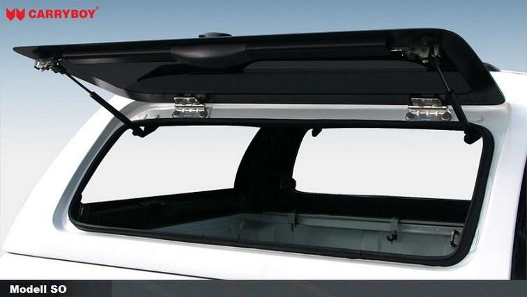 CARRYBOY Hardtop mit geschlossenen Klappen SOK-IRD Isuzu D-Max Doppelkabine 2017-2020 Lackierung in Wagenfarbe