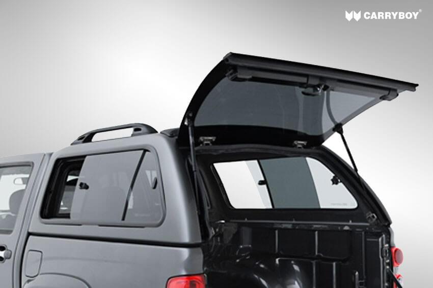 Carryboy Hardtop Modell 560-SKD SsangYong Actyon getönte Heckscheibe mit Heizung
