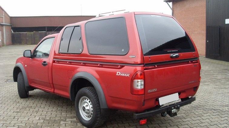 CARRYBOY Hardtop Überhoch mit Schiebefenster Isuzu D-Max 2012-2020 Lackierung in Wagenfarbe