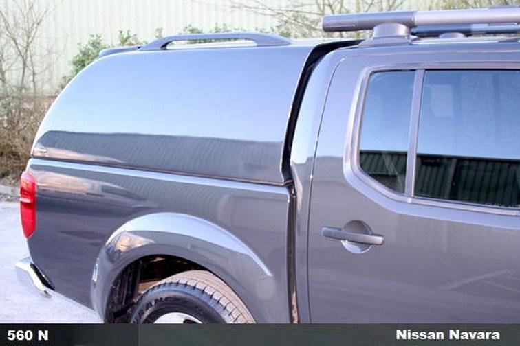 Carryboy Hardtop Nissan Navara D40 Kingcab geschlossene Seiten