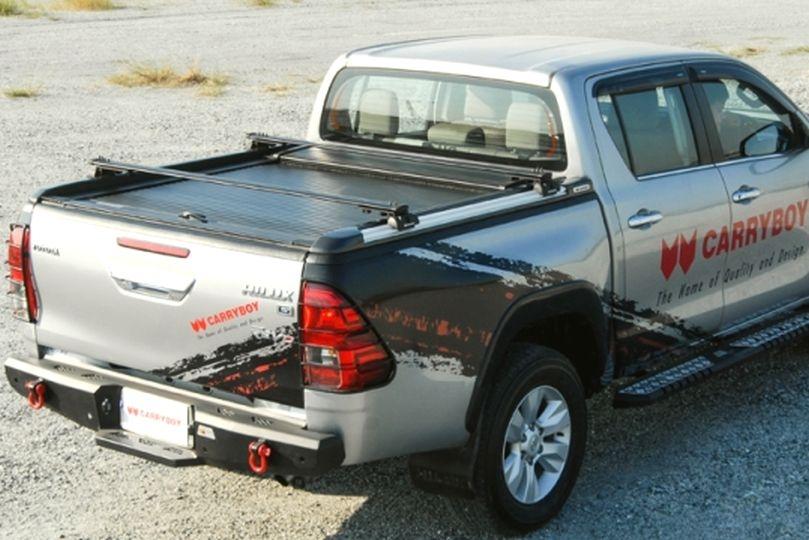 CARRYBOY Rollabdeckung mit Querträgern 789F für Toyota Hilux