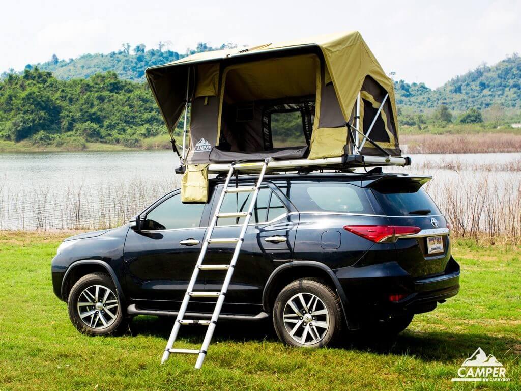Carryboy Camper Dachzelt für 2 bis 3 Personen für alle Fahrzeuge schnell verstaut