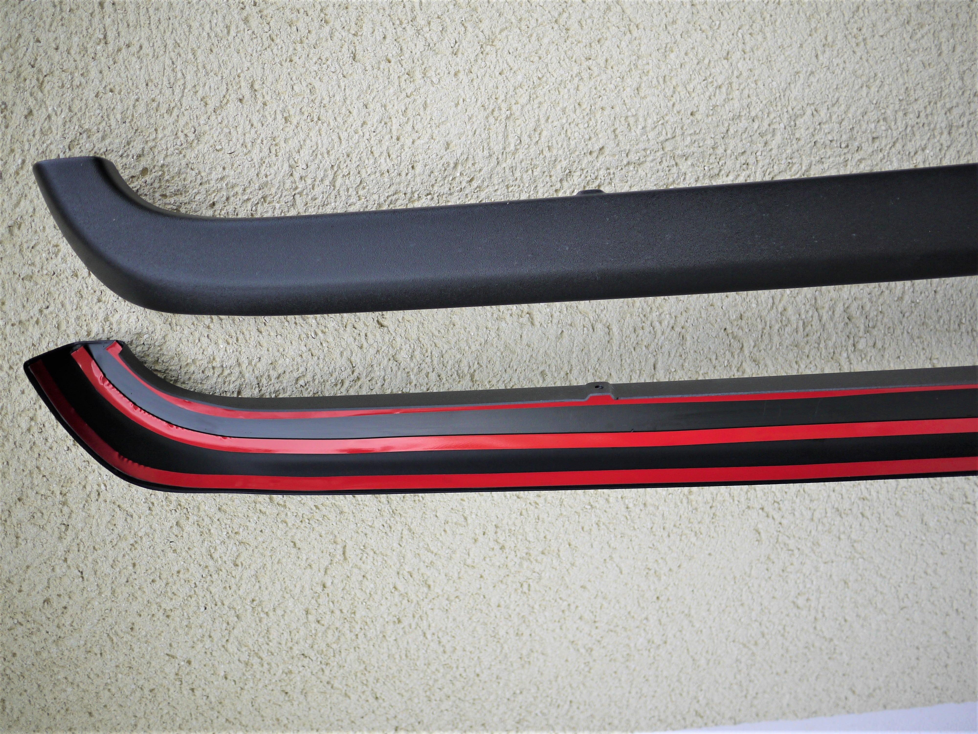 NOVISauto Ladekantenschutz Kantenschutz Ford Ranger VW Amarok