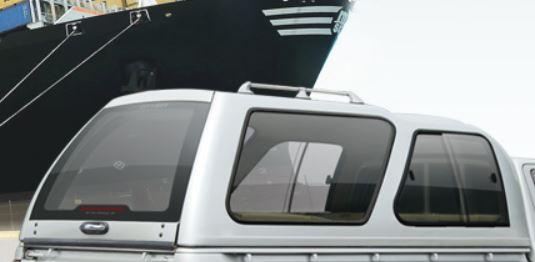CARRYBOY Hardtop Überhoch mit Schiebefenster Isuzu D-Max 2012-2020 einfacher Aufbau und volle Flexibilitöt