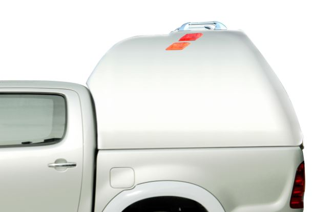 CARRYBOY Hardtop Überhöhe mit geschlossenen Seiten 840-TVD Toyota Hilux Vigo Doppelkabine