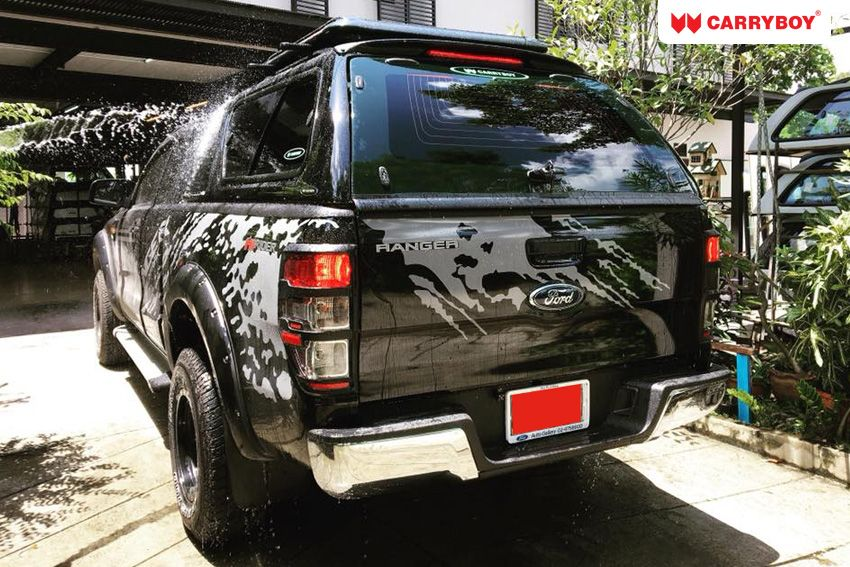 CARRYBOY GFK Hardtop mit Schiebefenster Ford Ranger Extrakabine 2012+