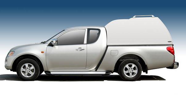 CARRYBOY Hardtop Überhoch Ford Ranger Extrakabine 2002-2011 geschlossene Seiten extrem stabil und hochwertig