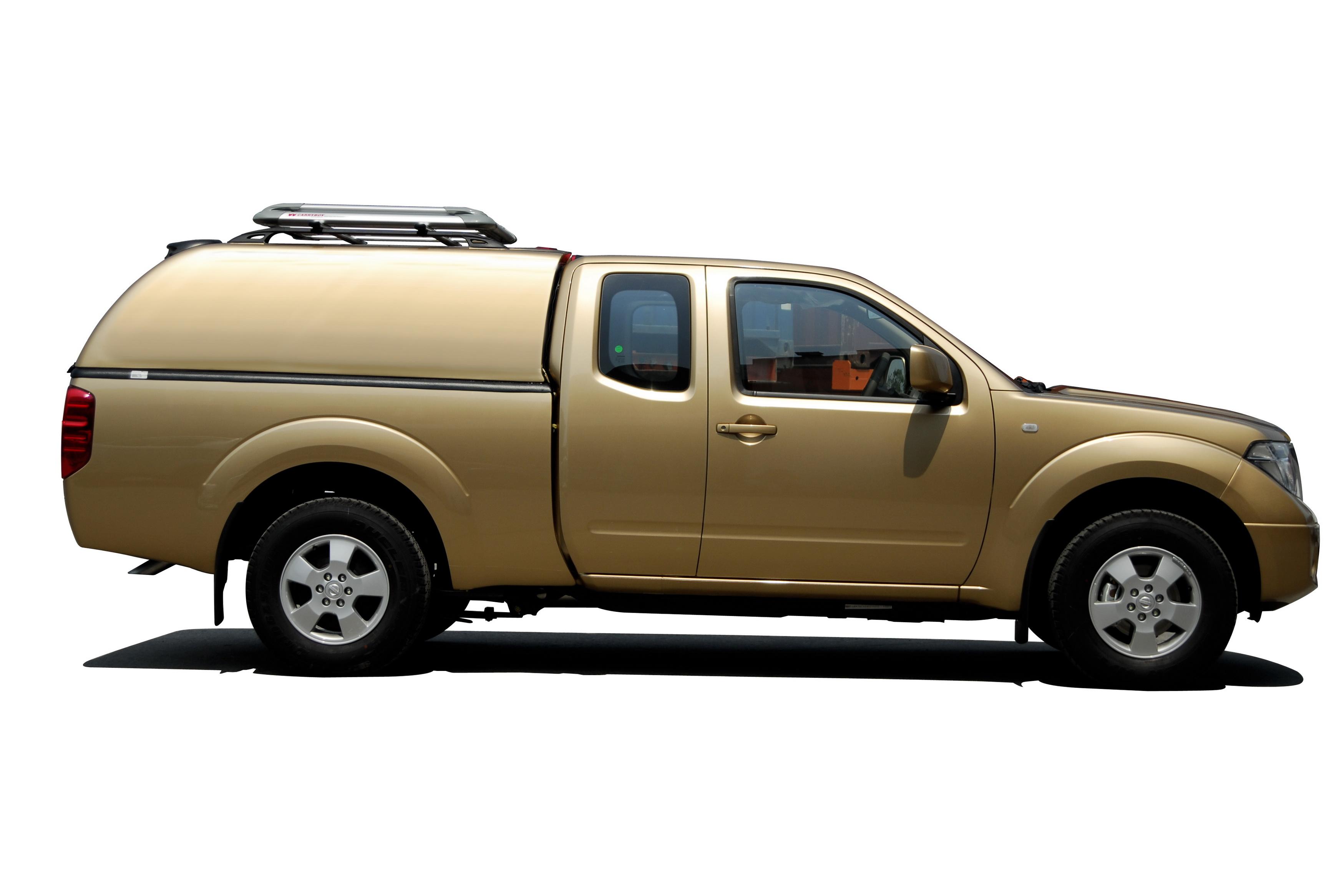 Carryboy Hardtop 560 für Nissan Navara King Cab ohne Seitenfenster