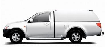 CARRYBOY Hardtop 560oS-FTL für Ford Ranger Singlecab ohne Seitenfenster geschlossene Seiten
