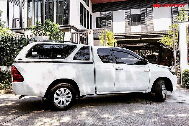 CARRYBOY Hardtop mit schiebefenster und Ausstellfenster Isuzu D-Max Extrakabine 2017-2020