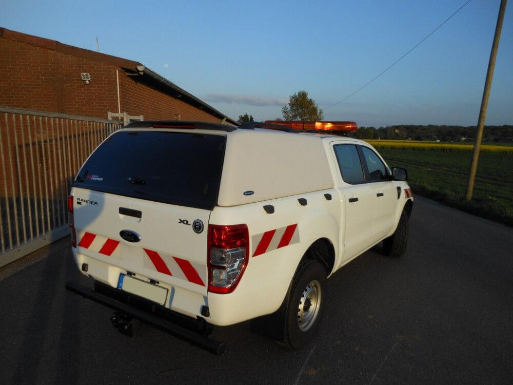 CARRYBOY geschlossenes Hardtpo Ford Ranger Doppelkabine 2002-2011 Lackierung in Wagenfarbe