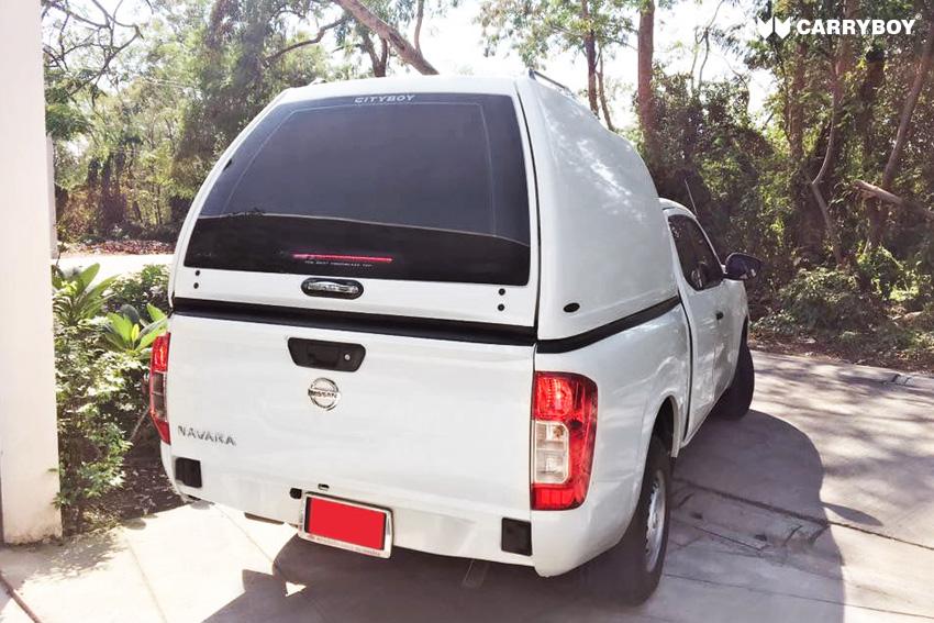 CARRYBOY Hardtop Überhoch ohne Seitenfenster maximale Ladehöhe Hardtop lackierung in Wagenfarbe