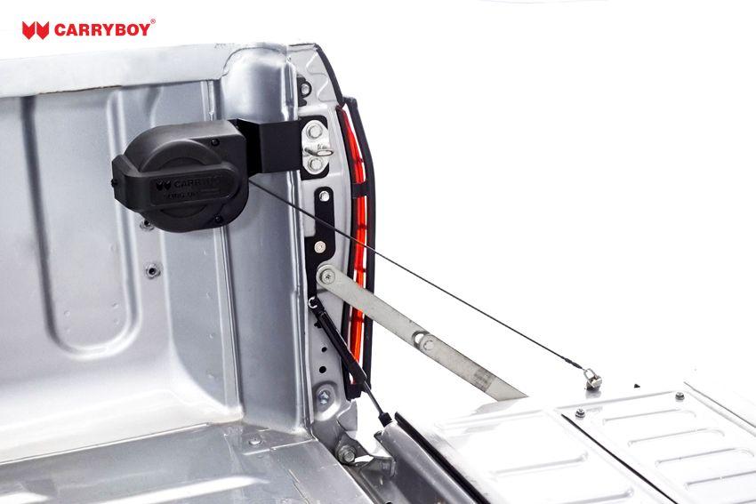 CARRYBOY Pickup Heckklappendämpfer Unterstützung Hilfe CB-105-MN Mitsubishi L200 platzsparender Einbau