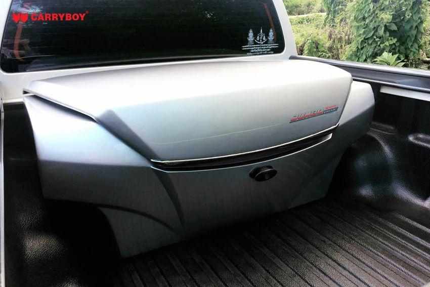 CARRYBOY Staubox Transportbox XXL Jumbo 735 Pickup Ladefläche sicher abschließbar Ladungssicherung