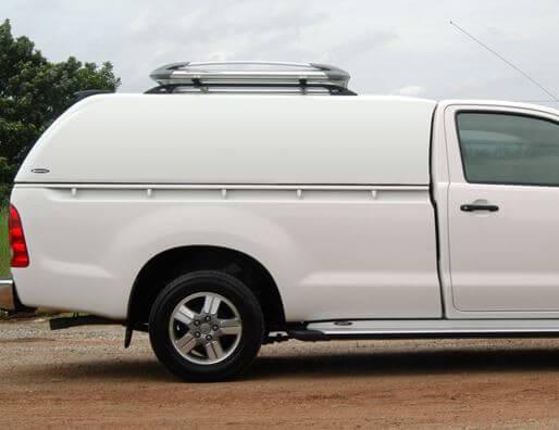 CARRYBOY Hardtop ohne Seitenfenster geschlossene Seiten Ford Ranger Singlecab Einzelkabine 2002-2011