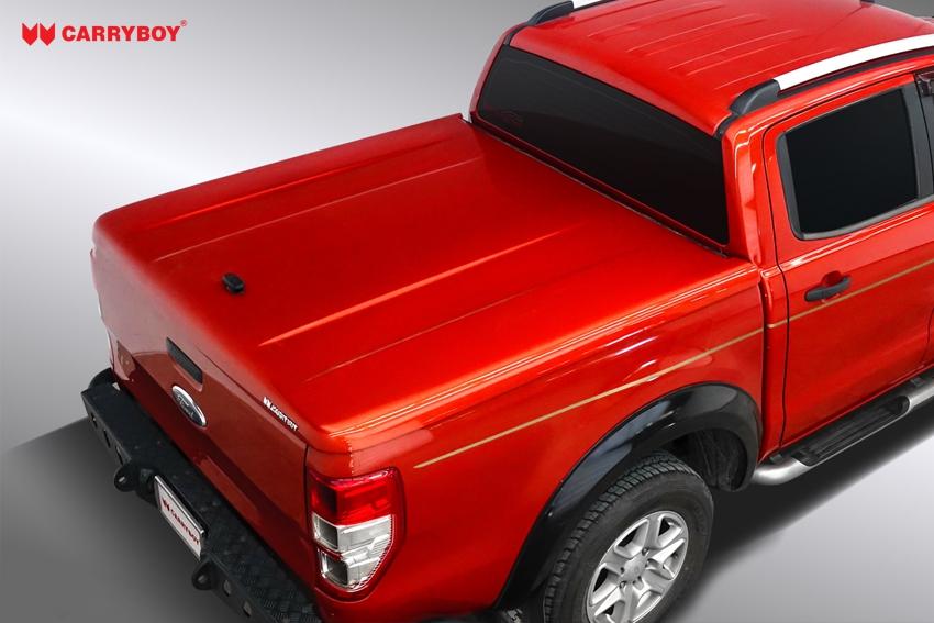 Ford Ranger Doppelkabine Laderaumabdeckung Deckel Flachabdeckung SMX2-FTD, geschlossen