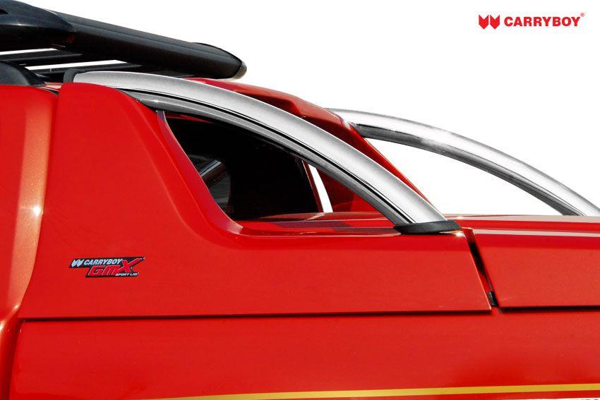 CARRYBOY Pickup Laderaumabdeckung Deckel mit Edelstahlbügel GRX Überrollbügel