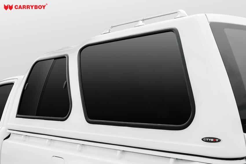 Carryboy Hardtop Modell 840-FL für Ford Ranger Einzelkabine mit Schiebefenster