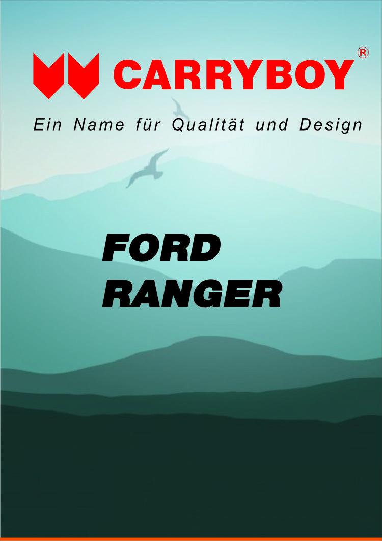 CARRYBOY Flyer Broschüre Ford Ranger Hardtop Laderaumabdeckung Zubehör