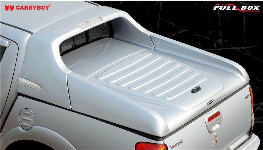 Carryboy Deutschland Fullbox lackierung in Wagenfarbe Toyota Hilux Vigo Doppelkabine 2005-2015