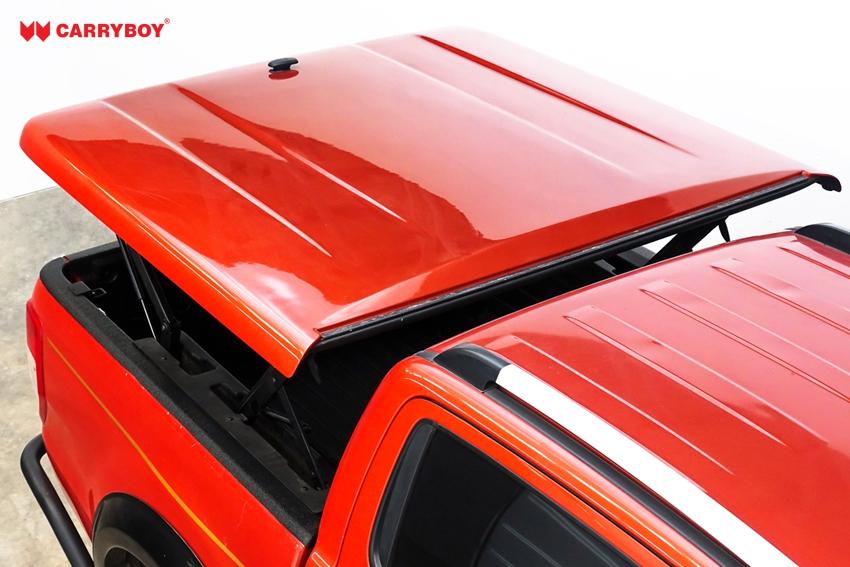 Ford Ranger Doppelkabine Laderaumabdeckung Deckel Flachabdeckung SMX2-FTD, offen fahrbar